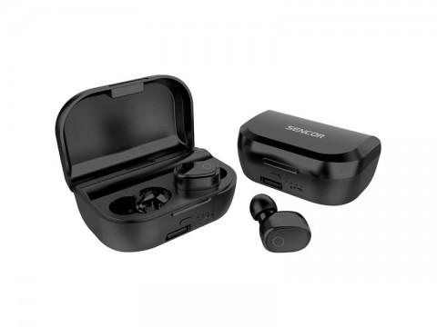 Slúchadlá Bluetooth SENCOR SEP 520BT BK TWS