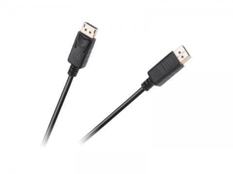 Kábel CABLETECH DisplayPort 3m