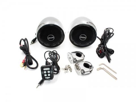 Zvukový systém s reproduktormi Bluetooth STU na motocykel