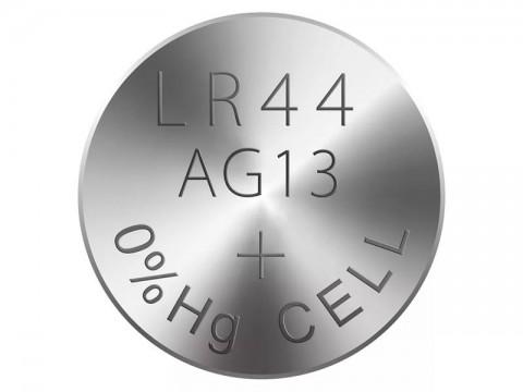 Batérie LR44 (A76) RAVER alkalická 5ks