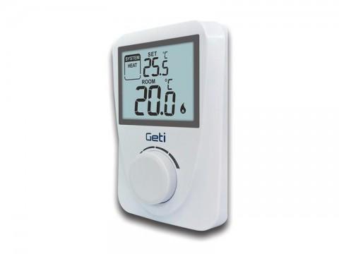 Termostat GETI GRT01 drôtový