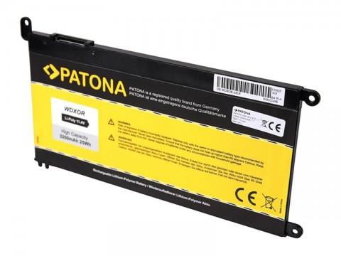 Batéria Dell Inspiron 15 5565 3400mAh Li-Pol 11.4V WDXOR PATONA PT2835
