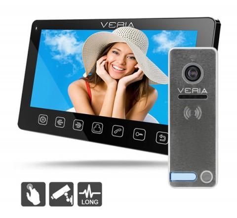 Videotelefón VERIA 7070C čierny + VERIA 230