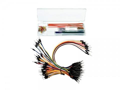 Prepojovacie kábliky a drôtiky pre skúšobné nepájivé kontaktné pole