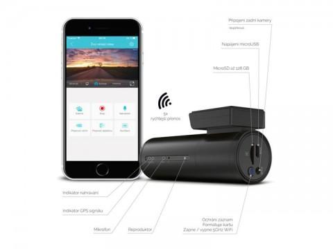 Kamera do auta TRUECAM H7 GPS 2.5km (s hlásením radarov)