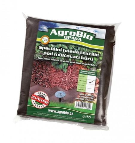 Textílie netkaná AgroBio 1.6x10m hnedá