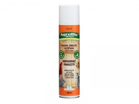 Odpudzovač parazitov (blchy, kliešte, čmelíci) AgroBio Atak Ektosol 250 ml