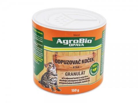 Odpudzovač mačiek AgroBio Atak 150g