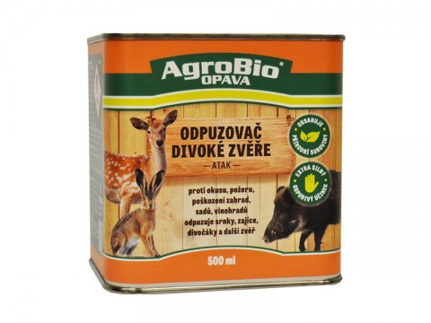 Odpudzovač divokej zveri AgroBio Atak 500 ml