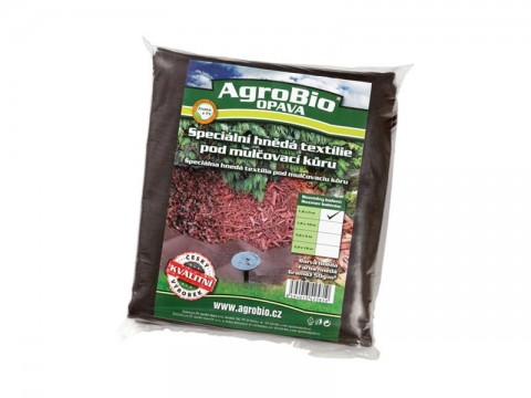 Textílie netkaná AgroBio 1.6x5m hnedá