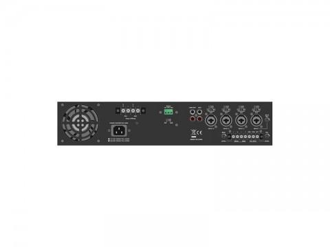Zosilňovač SHOW DA-241T (audio), 2 x 240W/70V/100V