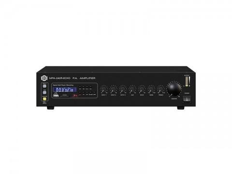 Zosilňovač SHOW MPA-240R ECHO, 240W / 4Ω /25V/70V/100V
