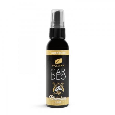 Osviežovač vzduchu - Paloma Car Deo - prémium line parfüm - Gold rush - 65 ml