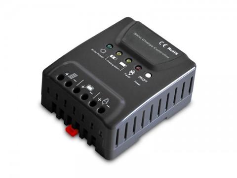 Solárny regulátor PWM Geti GSR020  12-24V/20A