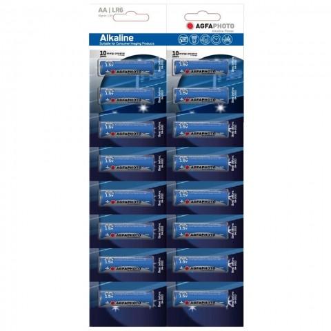 AgfaPhoto Power alkalická batéria LR06/AA, blister 16ks