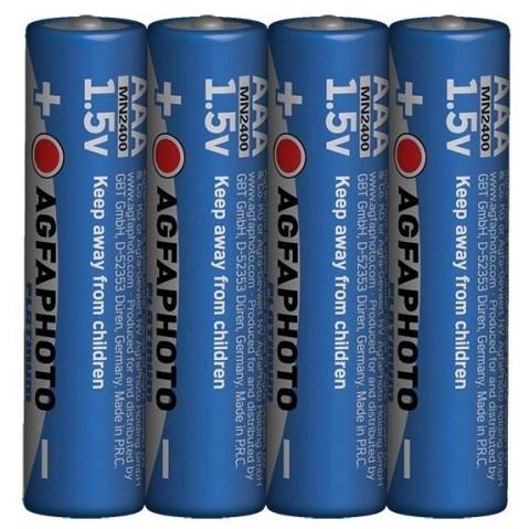 AgfaPhoto Power alkalická batéria LR03/AAA, shrink 4ks