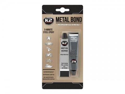 Lepidlo na kovy dvojzložkové K2 METAL BOND 56,7g