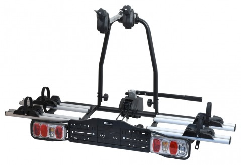 Nosič kol na tažné zařízení E-BIKE TÜV - 2 kola COMPASS