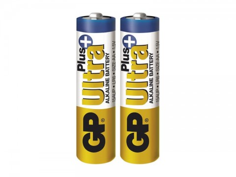 Batéria AA (R6) alkalická GP Ultra Plus Alkaline  2 ks