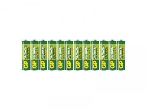Batérie AA (R6) Zn-Cl GP Greencell 12ks