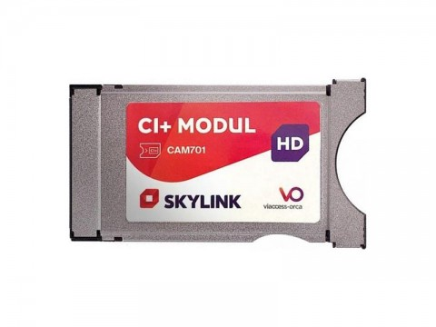 Dekódovací modul CAM701 Skylink Viaccess s integrovanou kartou