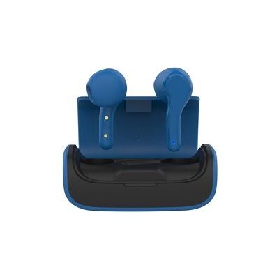 Slúchadlá Bluetooth TWS K28 modrá