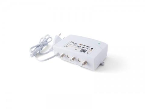 Anténny zosilňovač domovný Johansson 7722L2 VHF-UHF, 2x výstup, filter 5G LTE