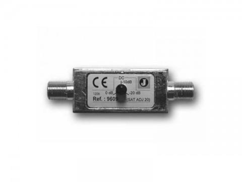 Satelitný útlmový článok Johansson 9609 s reguláciou 0-20 dB