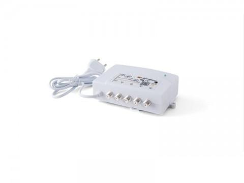 Anténny zosilňovač domovný Johansson 7724L2 VHF-UHF, 4x výstup, filter 5G LTE