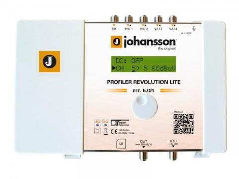 Anténny zosilňovač programovateľný Johansson 6701 Profiler LITE