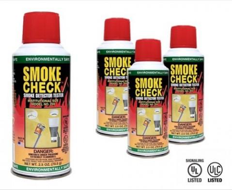 Testovacie sprej detektora dymu SmokeCheck