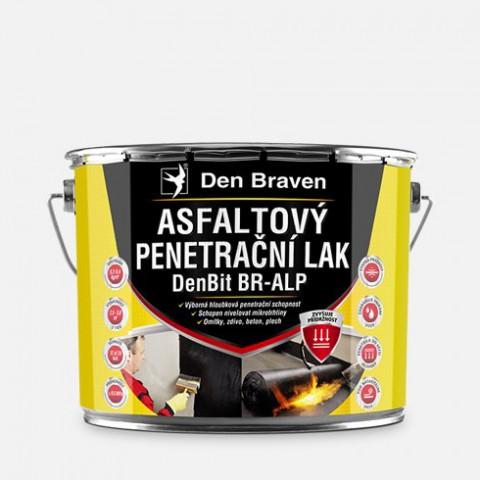 Asfaltový penetračný lak DEN BRAVEN DenBit BR – ALP 4,5kg