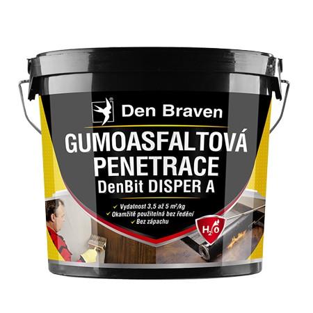 Gumoasfaltová penetrácia DEN BRAVEN DenBit DISPER A 5kg