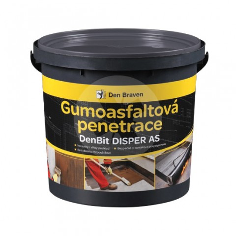 Gumoasfaltová penetrácia DEN BRAVEN DenBit DISPER AS 5 kg