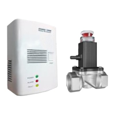 Detektor plynu AVANSA 100M LPG a zemní plyn + solenoidový ventil G 3/4