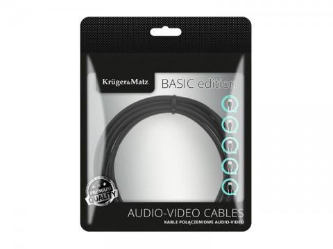 Kábel KRUGER & MATZ KM1208 Basic HDMI 5m