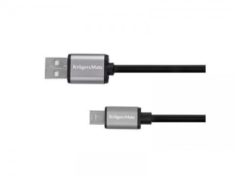 Kábel KRUGER & MATZ KM1241 Basic USB - USB mini 1m