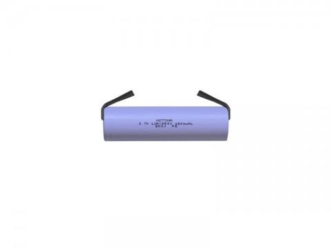 Nabíjacie batérie Li-Ion 18650 3,7V / 2500mAh 5C MOTOMA s pásikovými vývodmi