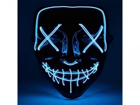 Maska svietiace 4L modrá