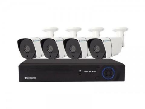 Kamerový systém SECURIA PRO NVR4CHV5-W