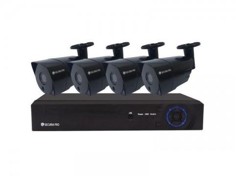 Kamerový systém SECURIA PRO NVR4CHV5-B