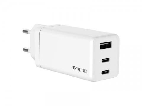 Adaptér USB YENKEE YAC 2065 GaN