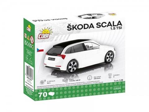 Stavebnica COBI 24583 Škoda Scala 1.5 TSI, 1:35, 70 k