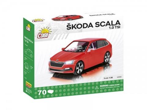 Stavebnica COBI 24582 Škoda Scala 1.0 TSI, 1:35, 70 k