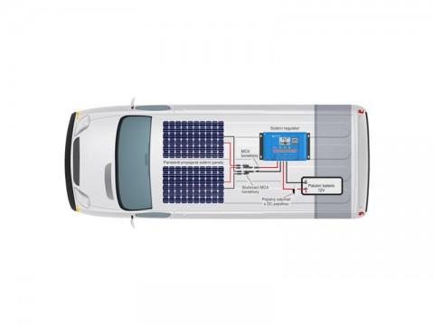 Solárna zostava Karavan Victron Energy 180Wp