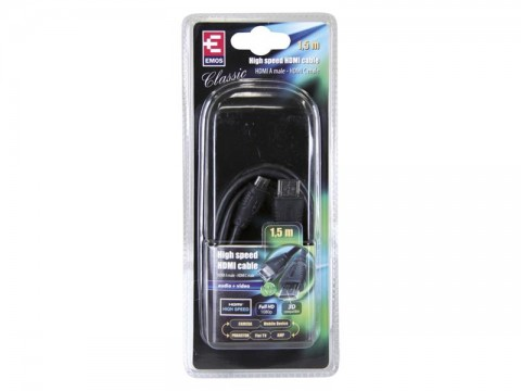 Kábel EMOS HDMI/HDMI-C mini 1,5m