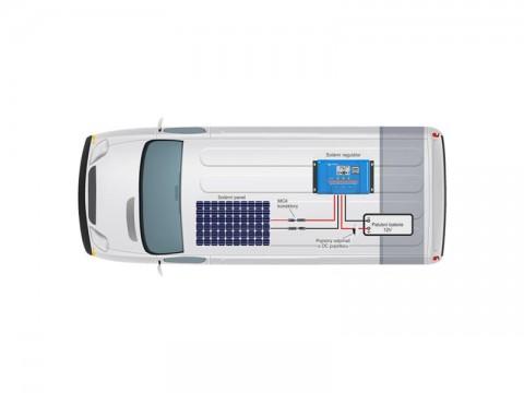Solárna zostava Karavan Victron Energy 175Wp