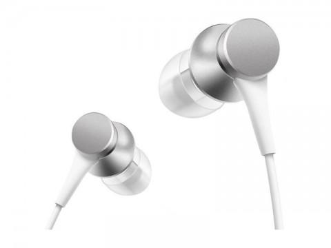 Slúchadlá XIAOMI MI In-Ear Headphones Basic Silver