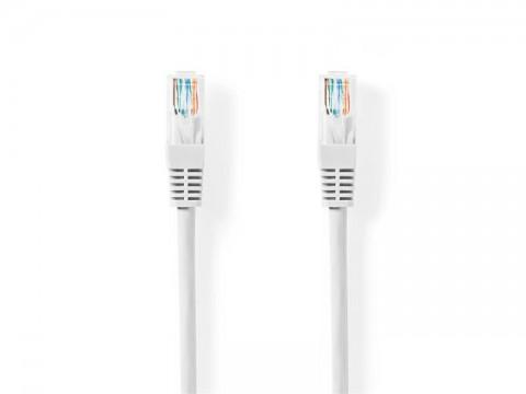 Kábel UTP 1x RJ45 - 1x RJ45 Cat5e 1m WHITE NEDIS CCGT85100WT10