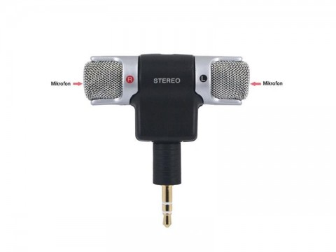 Externý mikrofón E-MIC pre mobilný telefón